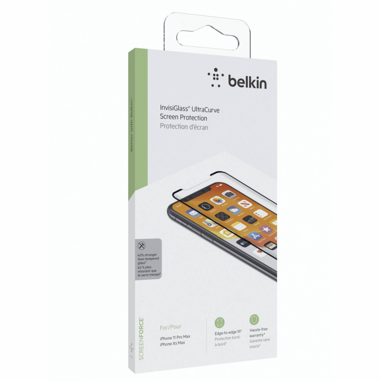 Belkin Screenforce Invisiglass Ultra Curve iPh. 11 ProMax/XsMax