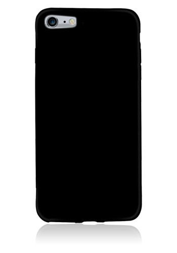 MTM TPU Silicon Cover Black, für Apple iPhone 7, Blister