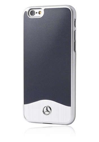 Mercedes-Benz MEHCP6CUALNA Hard Hülle Metallic Abyss, Wave I Glossy PC Line für Apple iPhone 6/6