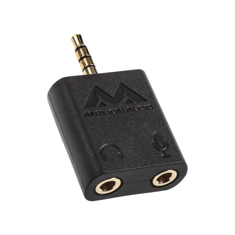 Antlion Audio Y-Adapter für Mikrofon & Kopfhörer