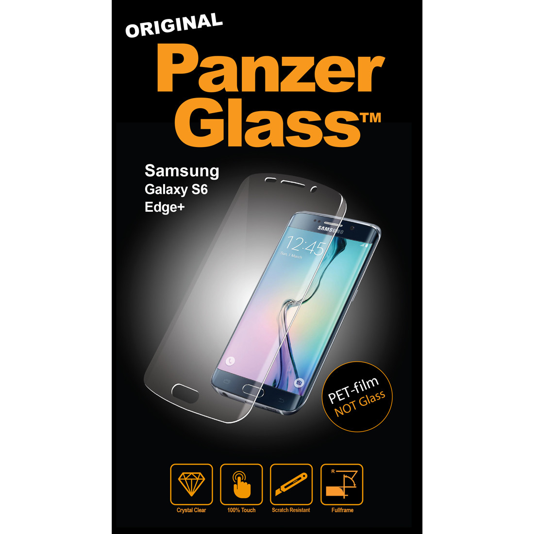 PanzerGlass Samsung Galaxy S6 Edge+ PET film