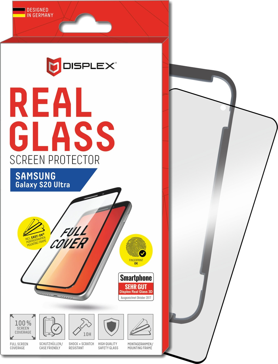 E.V.I. Displex Real Glass 3D Samsung Galaxy S20 Ultra