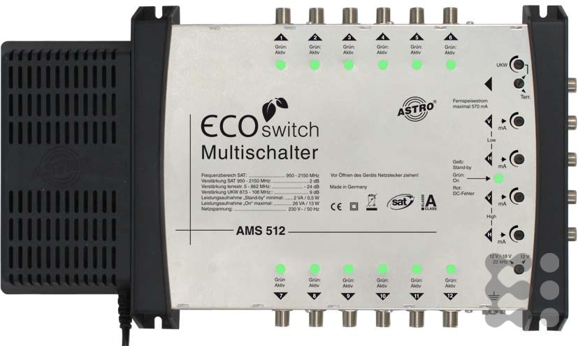 Astro AMS 512 ECOswitch
