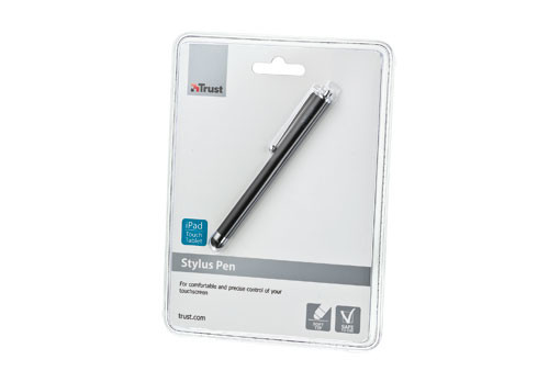 Trust Stylus for Apple iPad and touch tablets schwarz