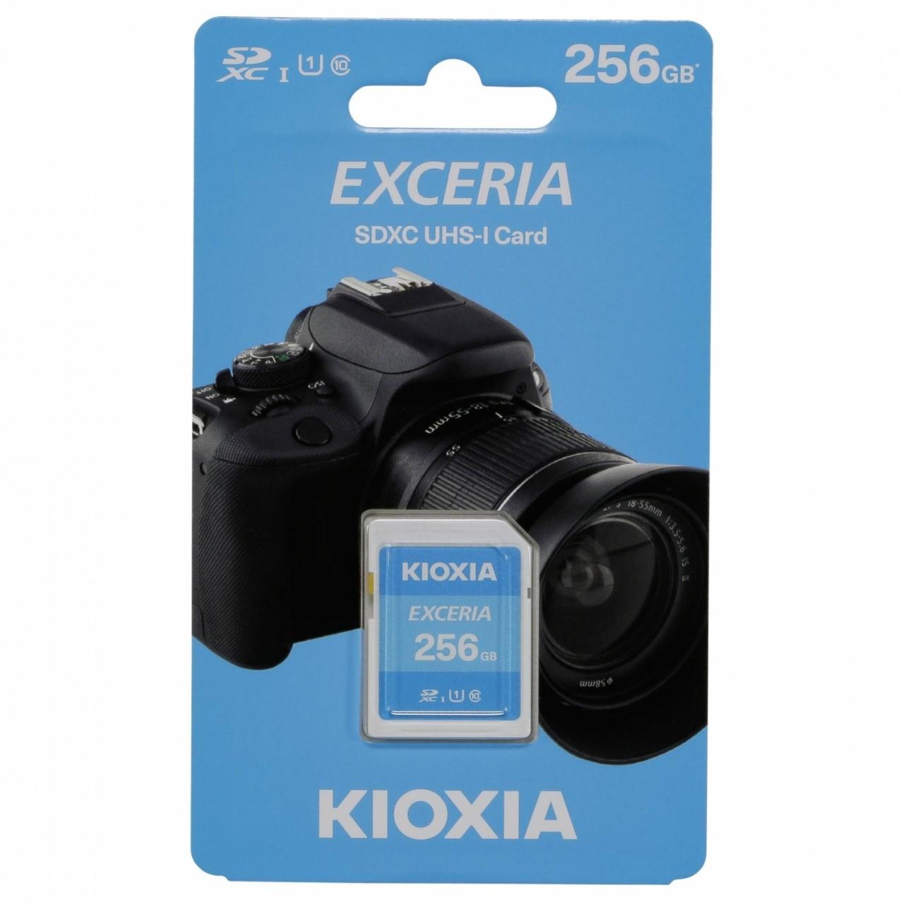 Kioxia Exceria SDXC 256GB Class 10 UHS-1