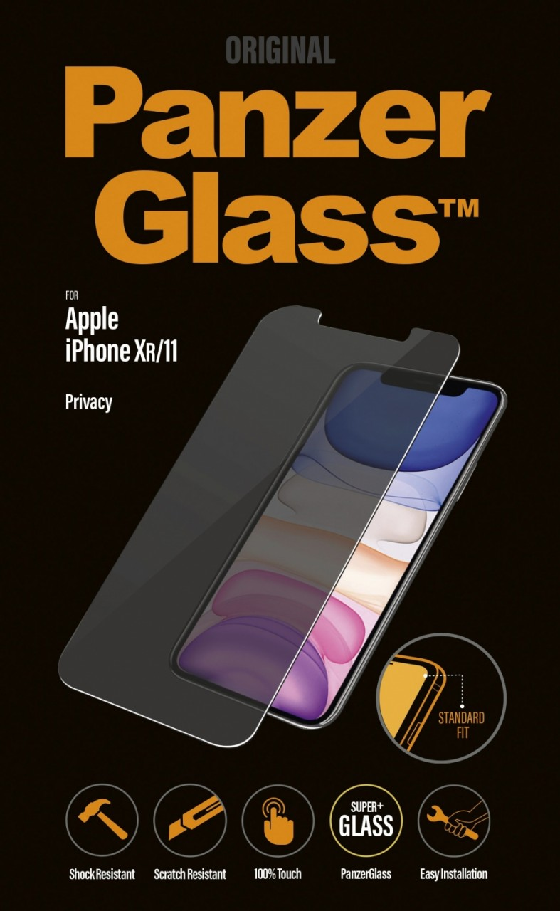 PanzerGlass Privacy Screen Protector for iPhone 11/XR clear