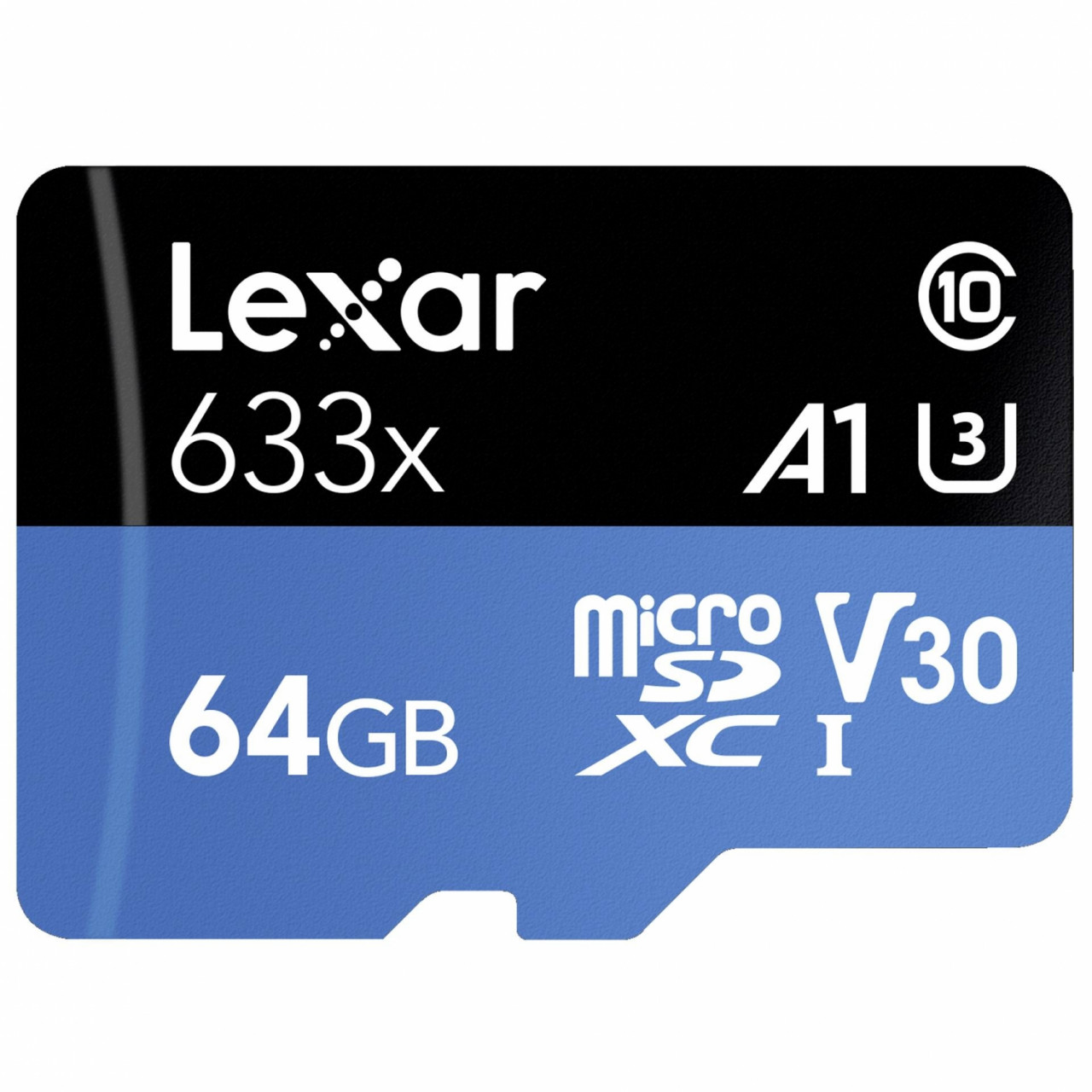 Lexar microSDXC Card 64GB UHS-I High-Performance 633x U3 100MB/s