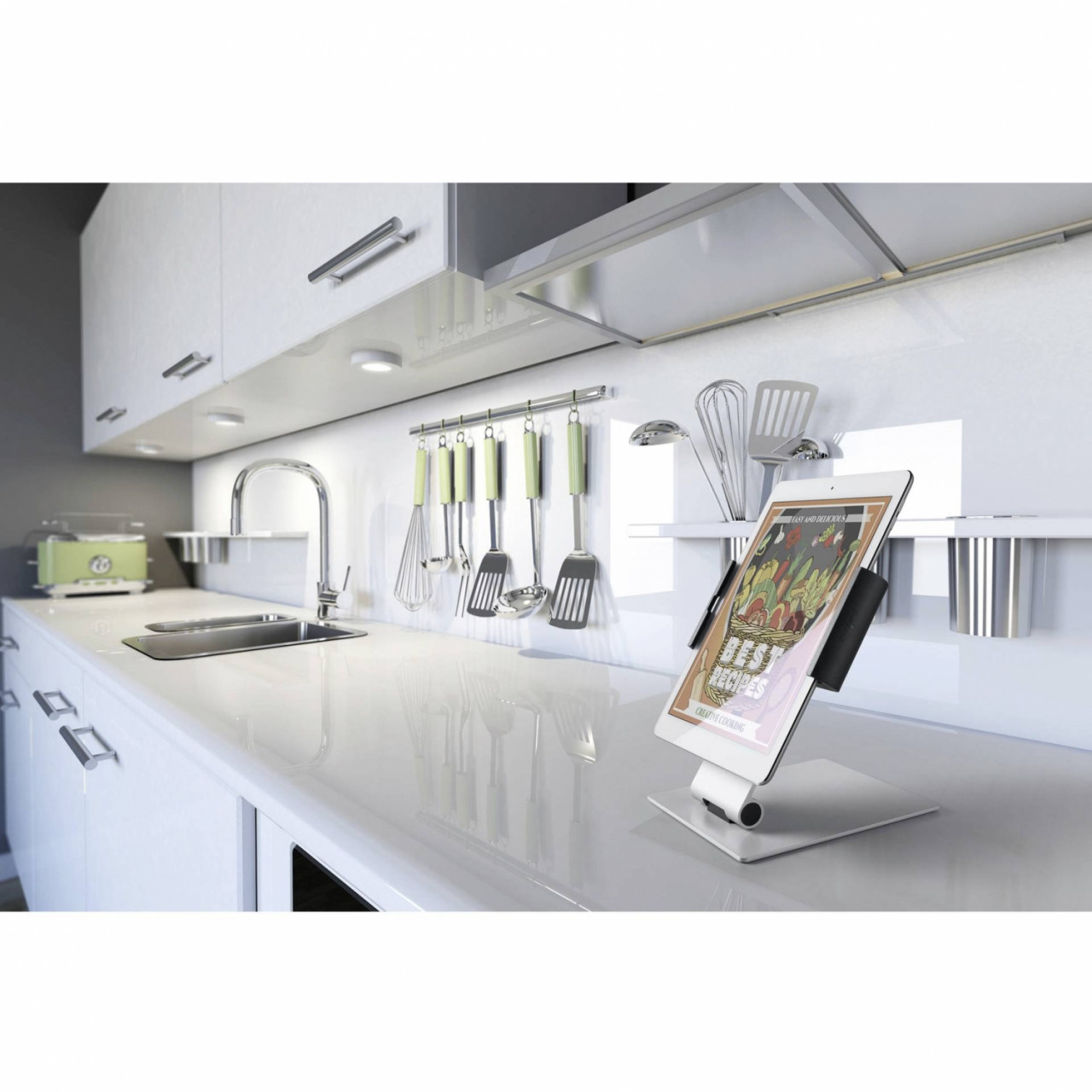 Durable Tablet Holder TABLE metallic silber 8930-23