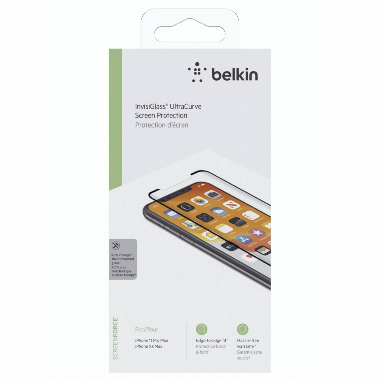 Belkin Screenforce Invisiglass Ultra Curve iPh. 11 ProMax/XsMax