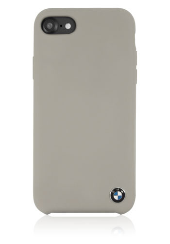 10Tacel BMW Silicon Hard Cover Taupe-Beige, Signature Col, f?r iPhone 8 Plus/7 Plus, BMHCI8LSILTA, B