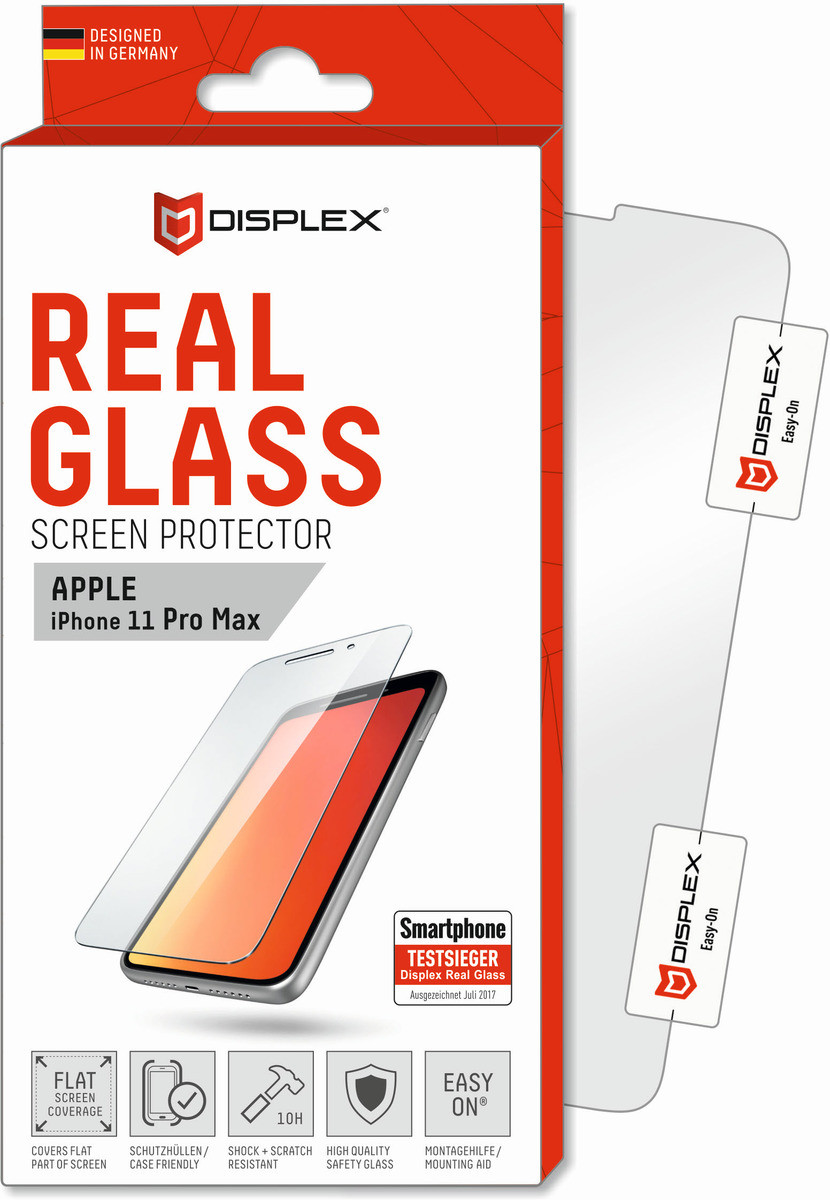 E.V.I. DISPLEX Real Glass iPhone 11 Pro Max
