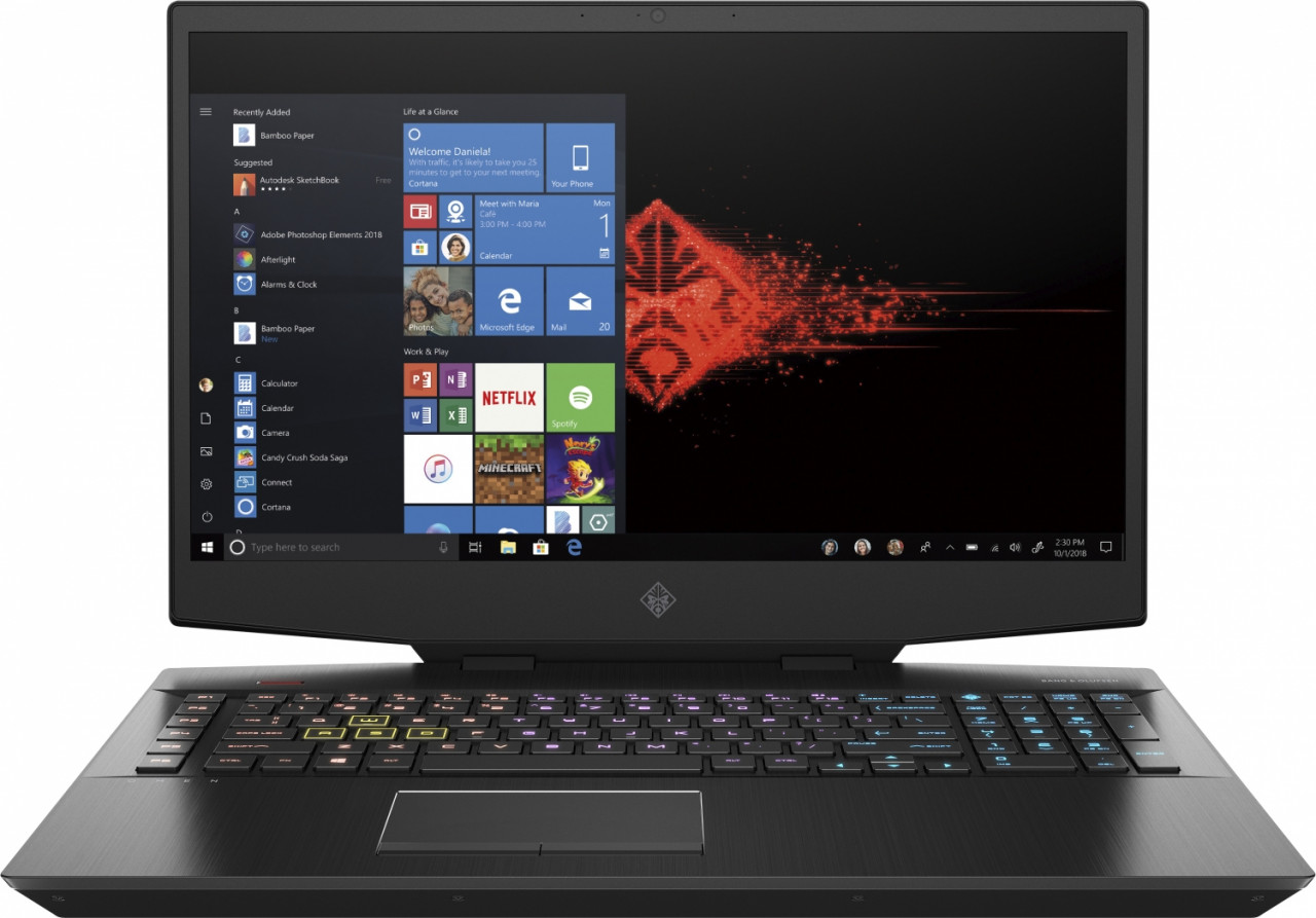 HP OMEN by HP 17-cb1467ng Notebook 43,9 cm (17.3 Zoll) 1920 x 1080 Pixel Intel® Core™ i7 Prozessoren